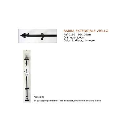 Barra Extensible Visillo 80X100 cm.