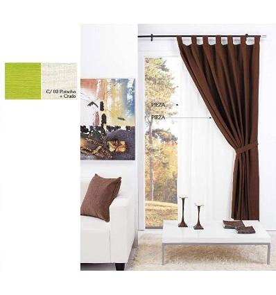 "Double Curtain ""Noche y Dia"" (2 Pieces) 140X260 cm."