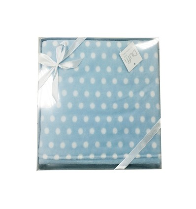 "Cobertor ""Coralina"" Estampado -Puntos- (1 Peça) 110X140 cm."