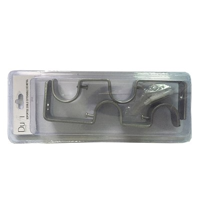Suport Doble Extensible de Metall (2 Peces) Ø 19 mm.