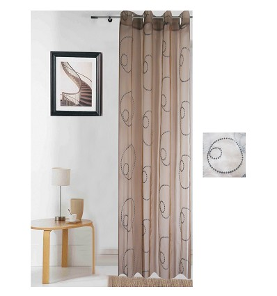 Ready-Made Curtain With Rings 140X260 cm.