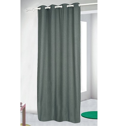 """Blackout """"Rustic"""" Curtain With Rings 200X255 cm."""
