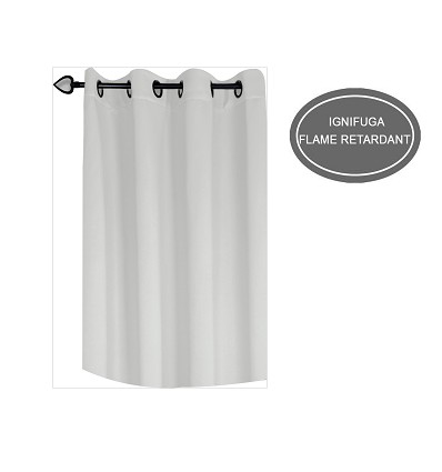 Ready-Made Fireproof Curtain With Rings 140X260 cm.