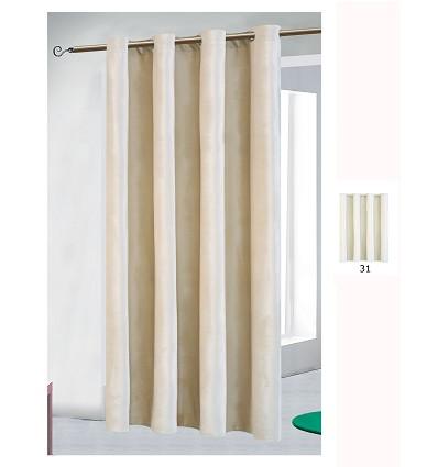 "Curtain ""Velvet"" With Rings (1 Piece) 140X260 cm."