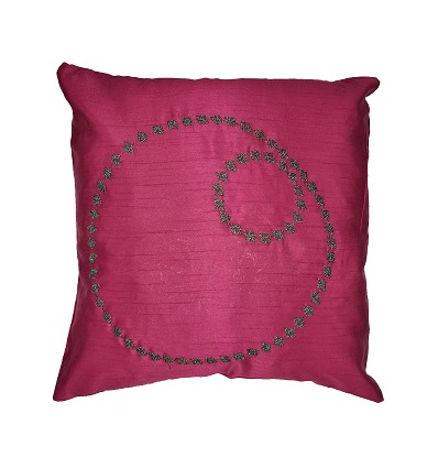 Embroidered Cushion 45X45 cm.