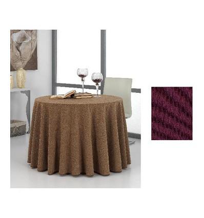 """Tapis de Table """"Frances"""" Chenille (1 Pièce) 60Ø"""