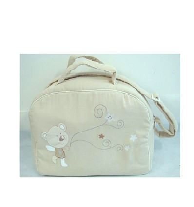 """Sac + Baby Changer """"Teddy"""" (2 Pièces)"""