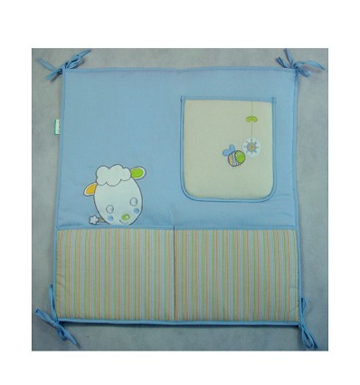 """Wall With Pockets """"Bee"""" (1 Piece)"""