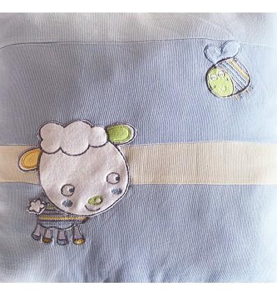 Children Embroidered Cushion + Padding (1 Piece) 40X40 cm.