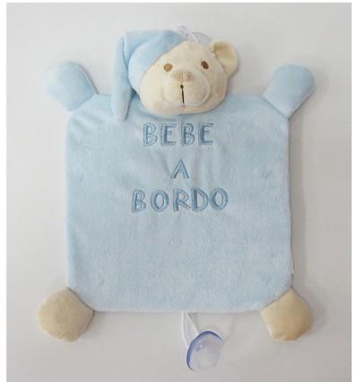 """Brinquedo """"Bebê À Bordo"""" Teddy (1 Peça)"""