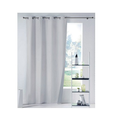 Blackout Curtain With Rings 100% Polyester 300X260 cm.