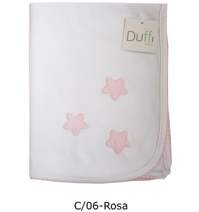 Embroidered Blanket 100% Cotton 80X110 cm.