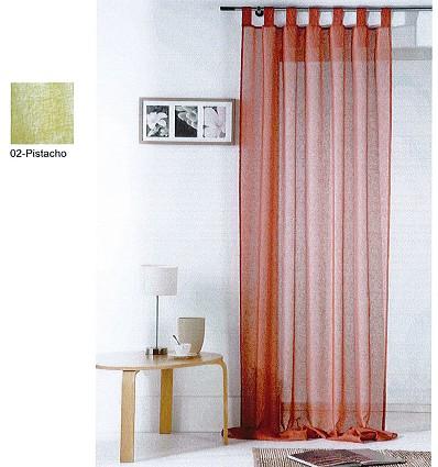 Cortina Decoración Efecto Lino 140X255 cm. (1 Pz)