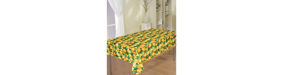 STAIN-RESISTANT TABLECLOTHS