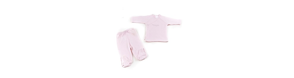 BABY SLEEPING BAG + BIB (2 pieces)