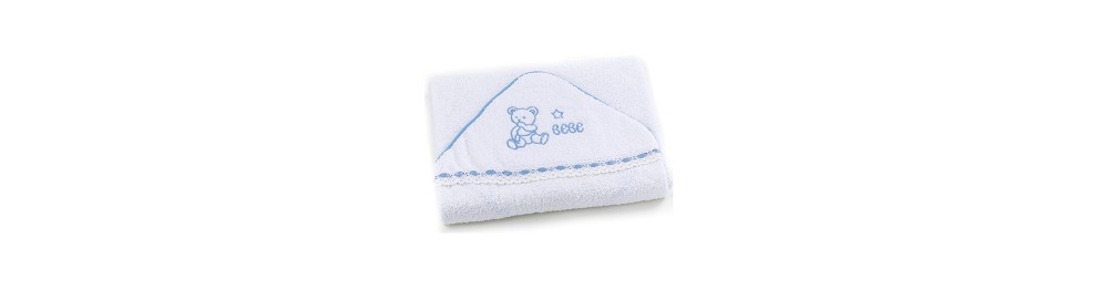 TERRY HOODED TOWEL 75 x 75 cms.