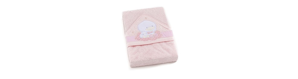 TERRY HOODED TOWEL 100 x 100 cms.